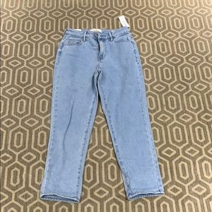 Mom jeans. NEVER WORN/ with tag.